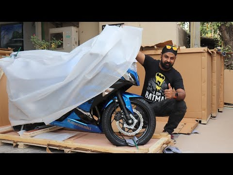 NEW NINJA 300 with ABS  - UNBOXING & RIDE