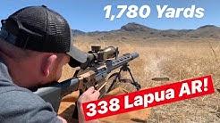 338 Lapua AR Shoots a Mile! OSS suppressors Helix 338 QD and SWORD International
