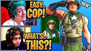 Streamers React to the *NEW* Munitions Major Skin! - Fortnite Moments