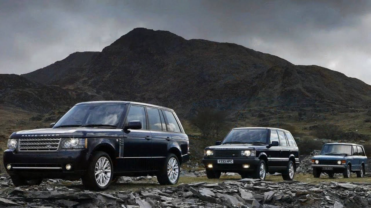 2011 Land Rover Range Rover Autobiography and Autobiography Black