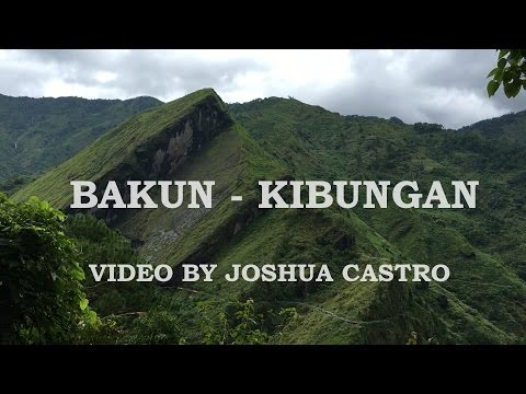 Bakun - Kibungan   (via Mt. Kabunian - Mt. Tagpew Traverse) - AMCI BMC 2016 TC3 Recon Climb