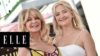 Kate Hudson Holds Back Tears During An Emotional Speech Honoring Her Parents | ELLE