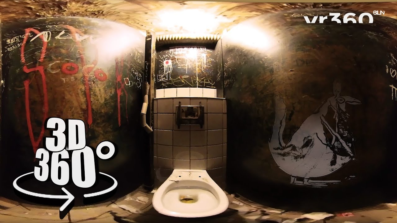 Klo Bathroom At Golden Gate Club Berlin Traditional Berlin In 360