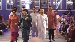 Fashion Show Baju Raya Michael Ang & Sherry Alhadad Gamatkan Suasana