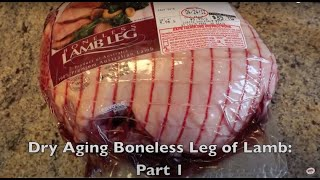 Foodsaver V2244 - Sealing UMAi DrybagSteak (Leg of Lamb)