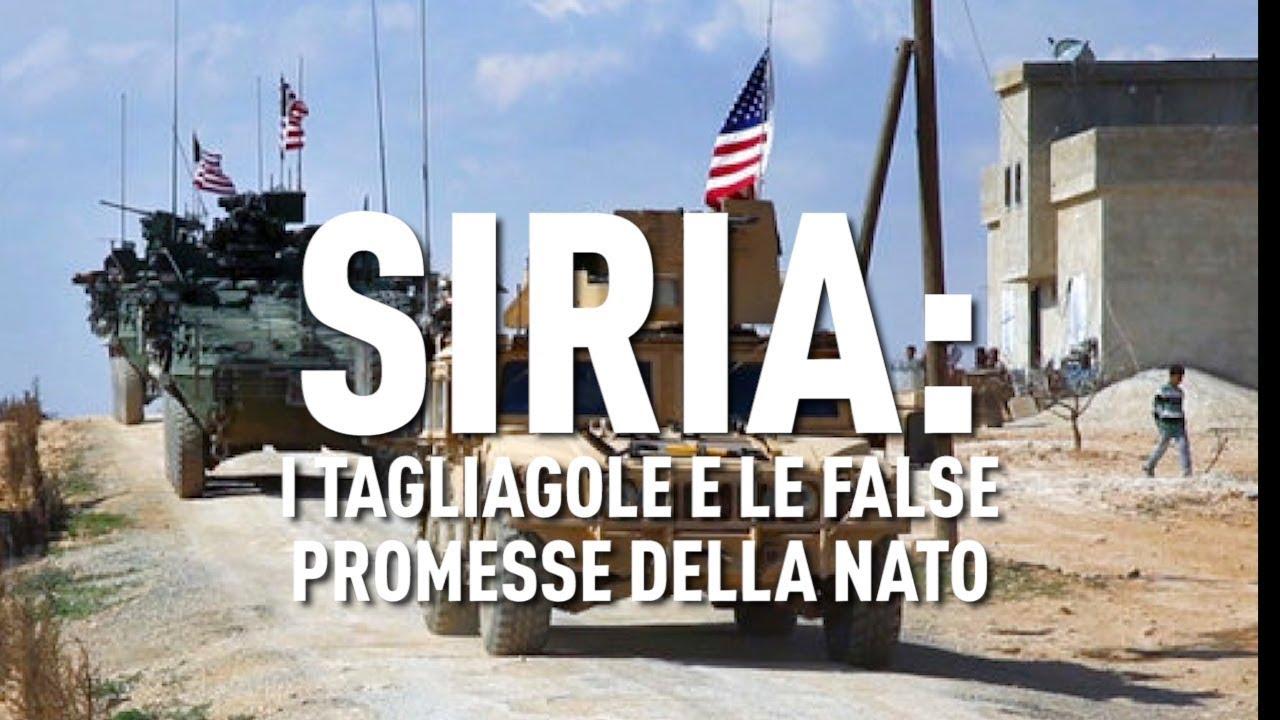 PTV News - 15.01.19 - Siria: i tagliagole e le false promesse della NATO