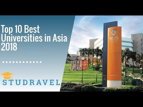Top 10 Best Universities in Asia 2018 | STUDRAVEL | THE World University Rankings ASIA