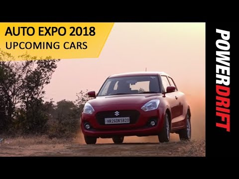 Upcoming Cars at AutoExpo 2018 : PowerDrift