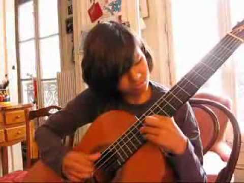 2008 jacques 12 ans etudie un morceau de villalobos