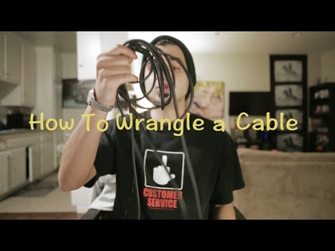 How to Wrap/Wrangle a Cable For Film and Television