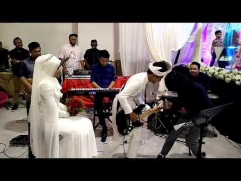 Drama band - biarkanlah (adib & intan wedding)