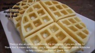 Coconut Waffles Recipe