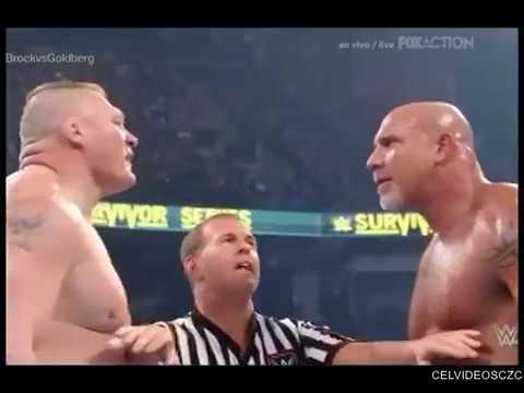 Goldberg vs Brock Lesnar EN VIVO por FOX...