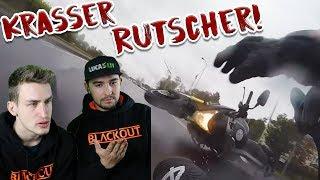 Krasse Motorrad Unfälle! | Reaktion mit Lucas Lit