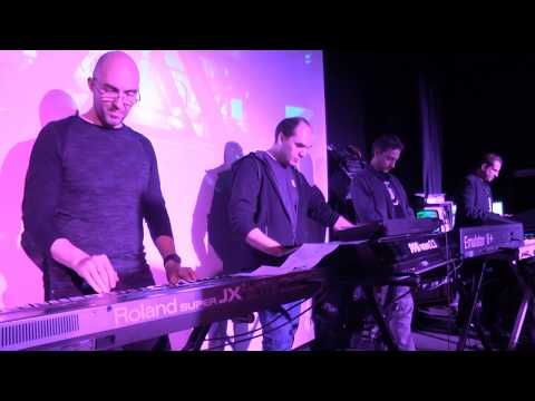 SynthFest 2016 - live tribute to Art of Noise / medley (Legs - Camilla - Beat Box)
