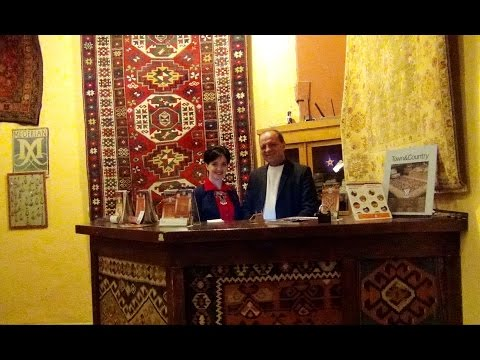Часть 1 - Тур по Музею Старинных Ковров в Megerian Carpet Armenia