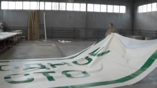 Широкоформатная печать(Процесс печати баннеров и брандмауэров от А до Я на собственной производственной базе.