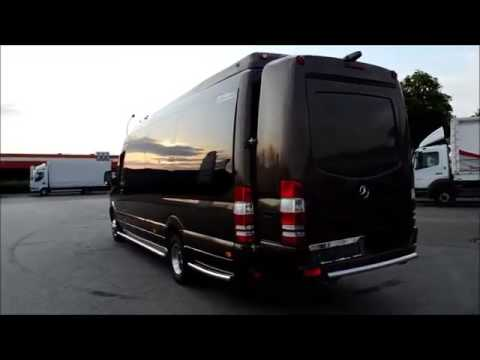 Mercedes Benz Sprinter 519 Luxus Vip Reisebus 19 1 1 Kaplan Bayrak Gbr Youtube