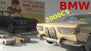BMW 2000 CS Modell & Realität - model & reality - Siku - YONEZAWA-TOYS Japan - EISI Holland