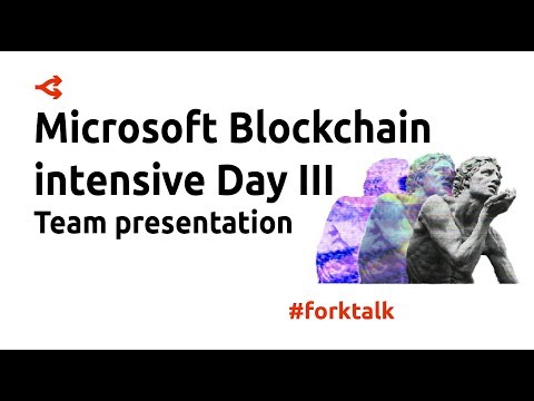 Blockchain intensive Day3 Team presentation