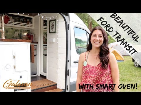 Beautiful Ford Transit Build w/ Great OVEN!
