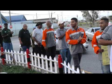 Steel Workers Union of Trinidad & Tobago & JTUM Media Conf April 8, 2016
