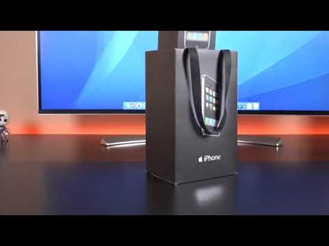 Apple iPhone 3G Unboxing [DetroitBORG]