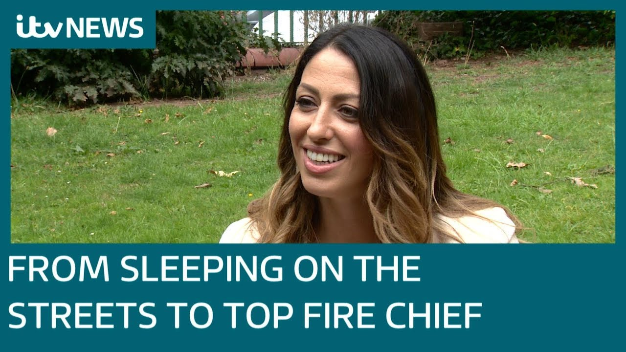 Sabrina Cohen-Hatton: From homeless teenager to top firefighter | ITV News