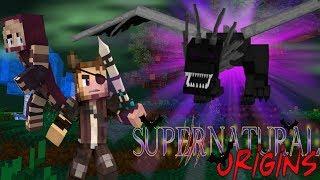 THE DRAGON REALM! - Minecraft Supernatural Origins #12 (Werewolf Modded Roleplay)