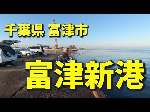 釣り場案内【富津新港】20191112