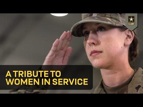 Tribute to Women in Service (4K)