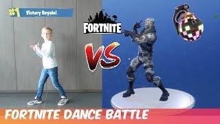 FORTNITE DANCE CHALLENGE #3 (in real life) - familie Meerschaert Challenge
