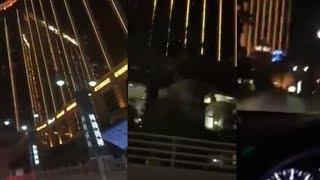 Video: Gun Fire in 2 Locations at Las Vegas Shooting?