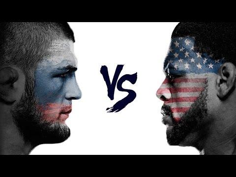 Khabib Nurmagomedov vs  Michael Johnson | Russia vs USA
