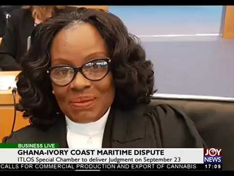 Disputed Maritime Boundary - Business Live on JoyNews (22-9-17)