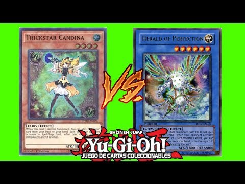Yugioh Match Trickstar vs Fairy Ritual Heraldo Noviembre 2017