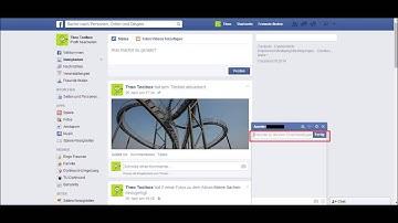 Gruppen-Chat bei Facebook
