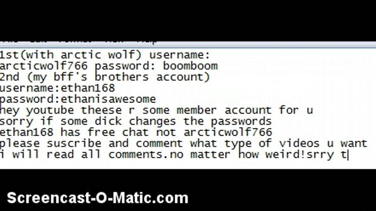 Animal Jam Password Bugmenot – Wonderful Image Gallery