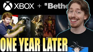 Xbox Acquires Bethesda - 1 Yęar Later