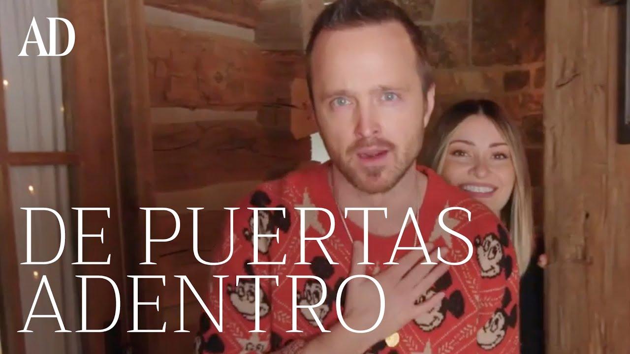 Aaron Paul nos enseña su casa rústica en Idaho | Andar por casa | AD España