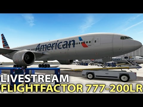 [Livestream] FlightFactor 777-200LR in X-Plane 10 ✈️ 2016-09-09