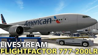 [Livestream] FlightFactor 777-200LR in X-Plane 10 ✈️ 2016-09-09
