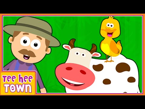 Old MacDonald Had A Farm | Sounds Of The Animals | Nursery Rhymes for Children by Teehee Town