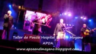 """Opus Cuatro canta """"Recuerdos de Ipacaray"""" para el Taller de Poesía - Hospital Moyano"""