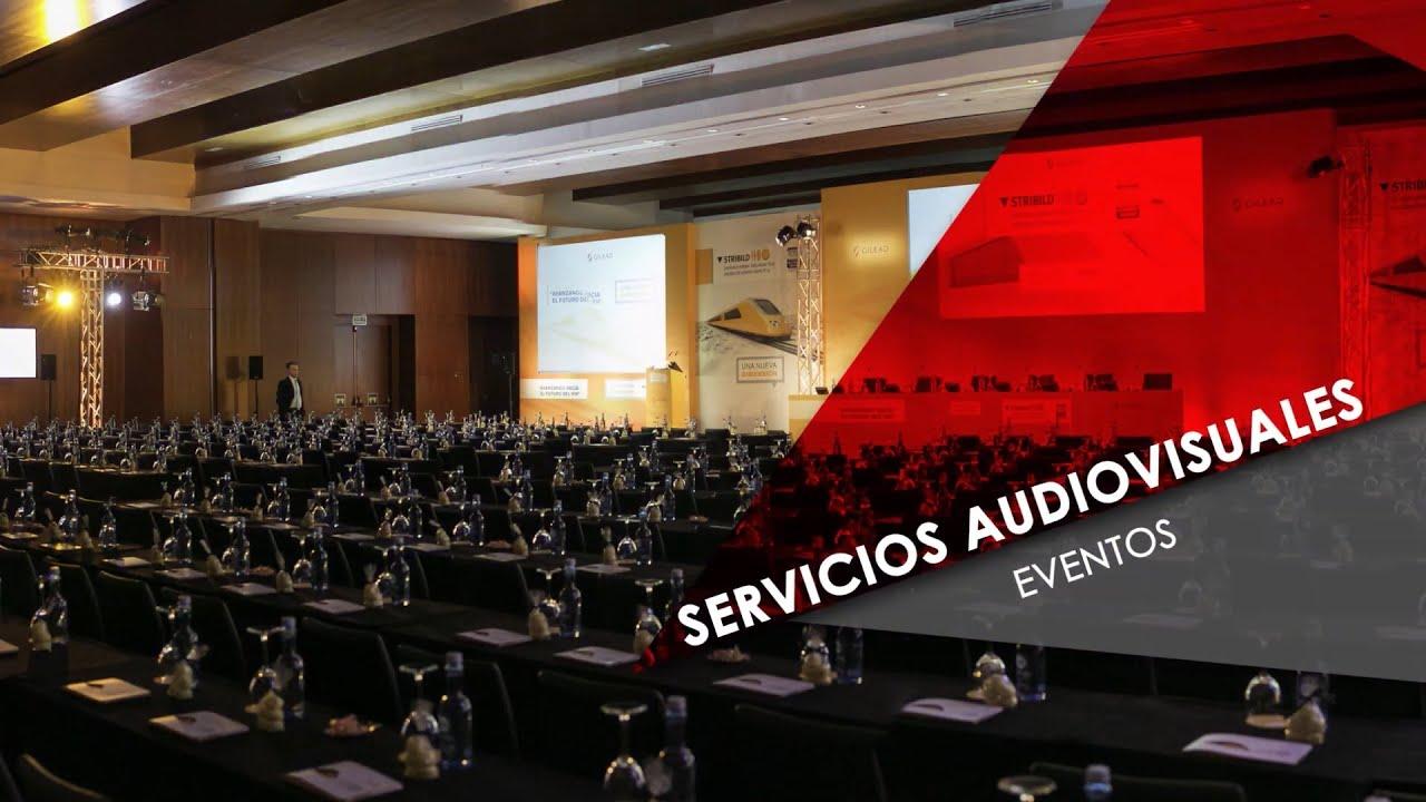 Alquiler de Equipo Audiovisual.