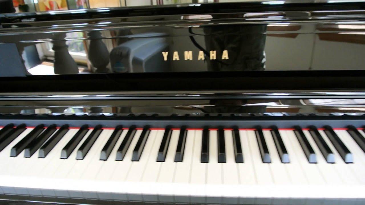 yamaha clavinova clp 465gp digital baby grand piano youtube. Black Bedroom Furniture Sets. Home Design Ideas