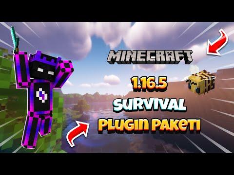 Minecraft (Yeni Nesil) Survival Plugin Paketi -ÜCRETSİZ- 2021