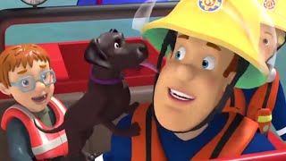 Fireman Sam US 🚒Dog in the River! 🐶 Best Rescue Compilation | Water Rescue 🚒 Kids Movie