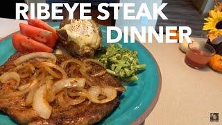 كيفية جعل لذيذ العشاء شريحة لحم Ribeye