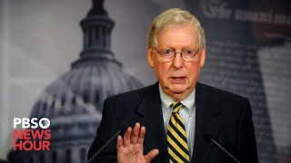 WATCH LIVE: Sen. Mitch McConnell comments on Afghanistan situation during news briefing in Kentucky